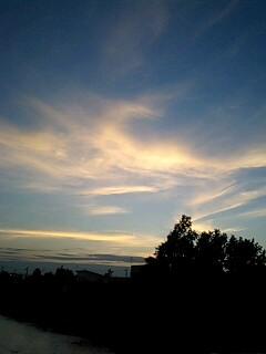 ふるさと夕焼け空