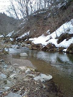 渓流は楽しい