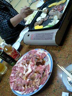 今日は焼き肉パーティー