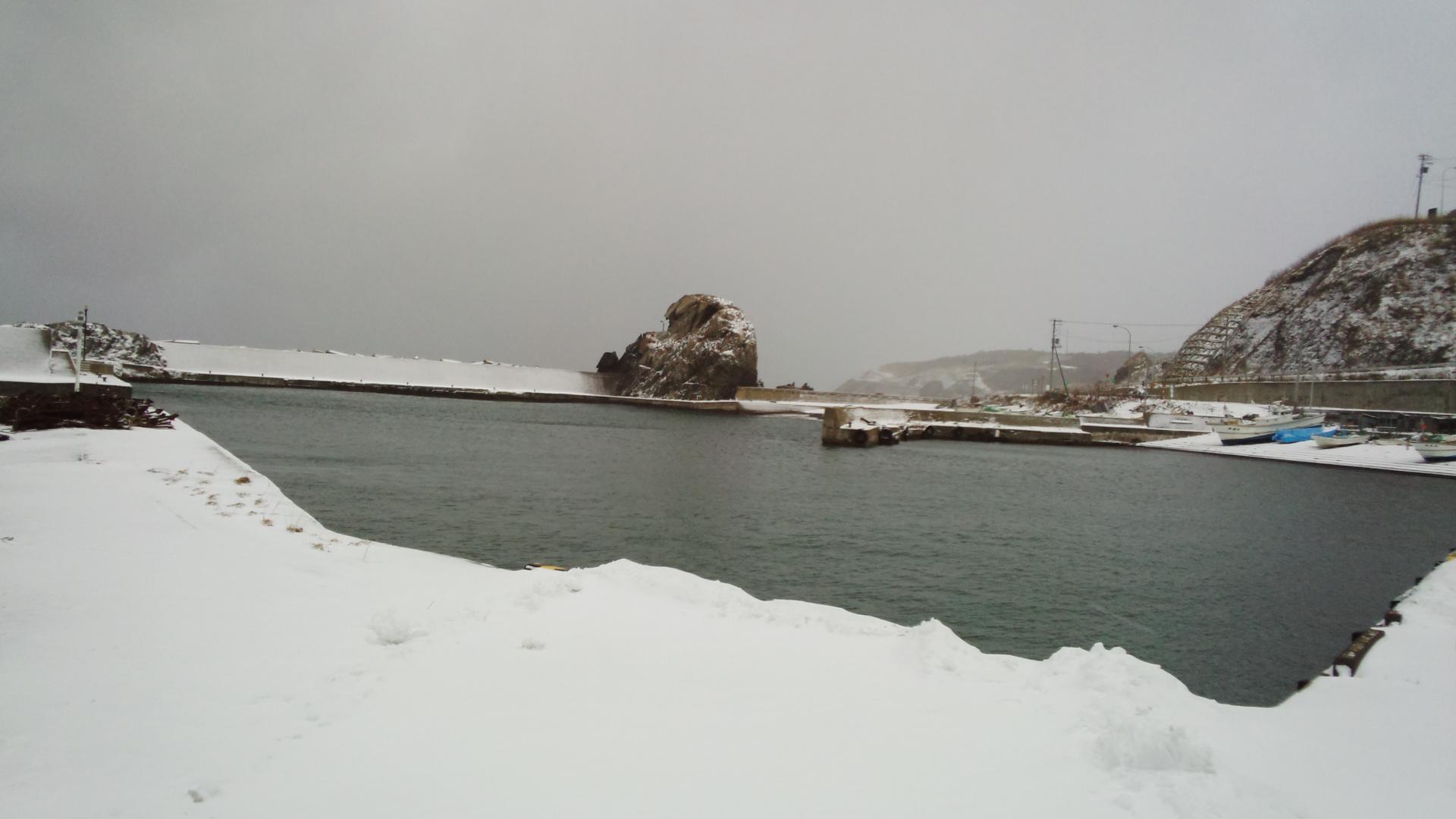 厳冬期日本海開幕