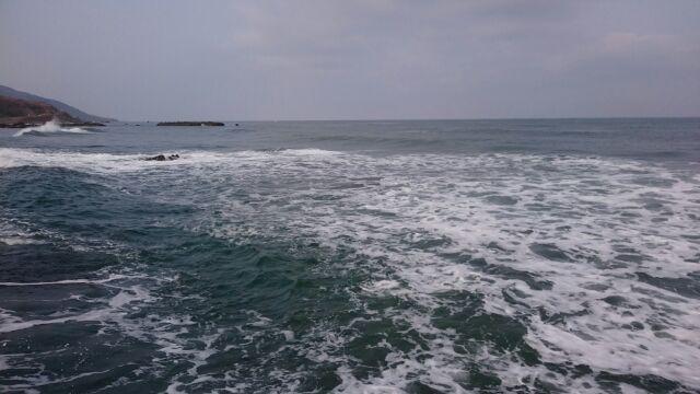 日本海にて