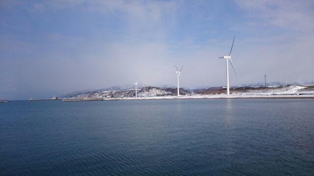 私的日本海開幕